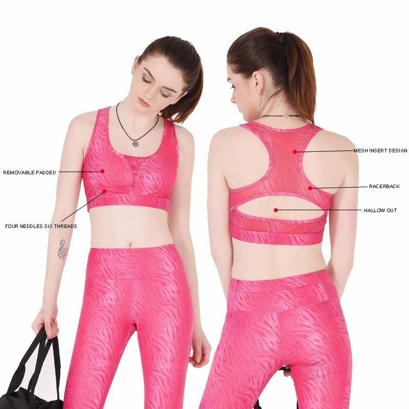 comfortable sports bra strappy for ladies INGOR-1