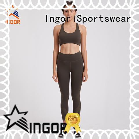 INGOR custom women yoga set overseas market for yoga