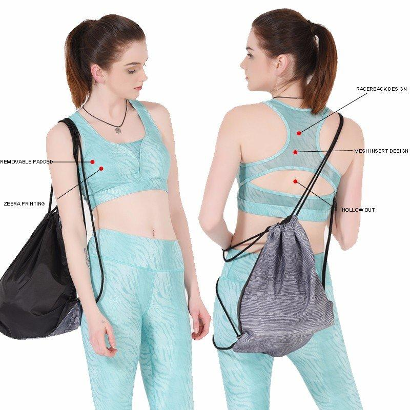 INGOR wireless strappy sports bra to enhance the capacity of sports for girls-1