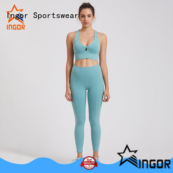 high quality women yoga set factory price for ladies