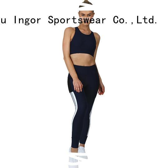 INGOR fashion women yoga set factory price for gym