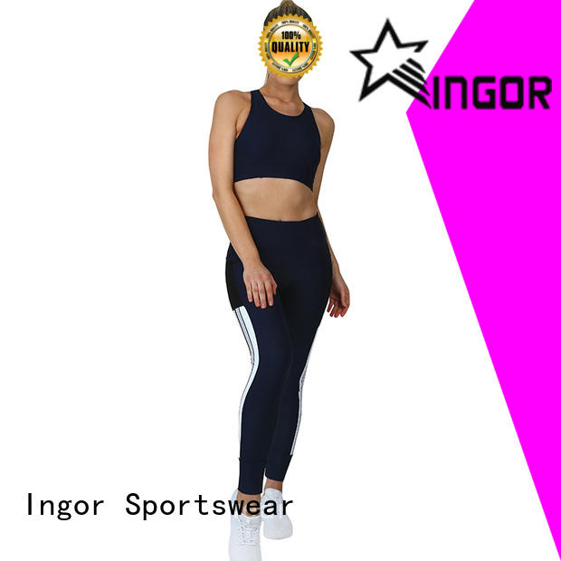 personalized yoga set factory price for ladies