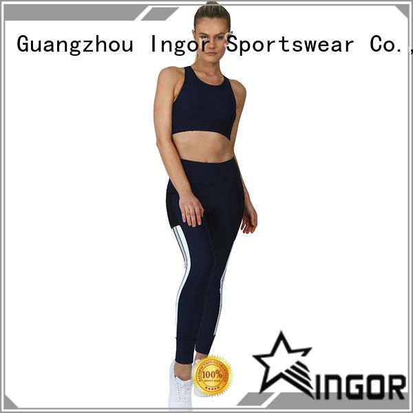 custom yoga set supplier for women