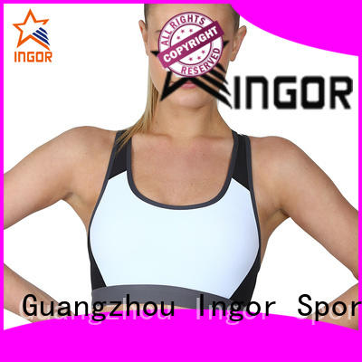 womens custom sports bras with high quality at the gym INGOR