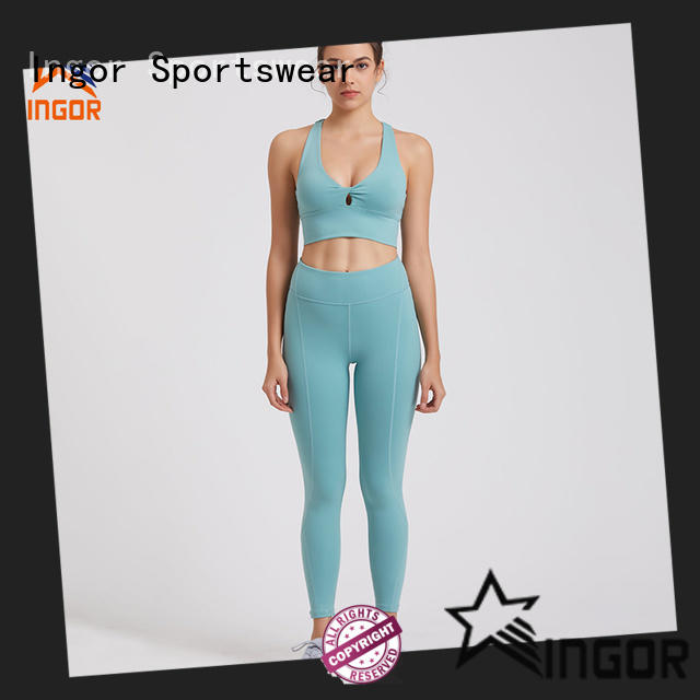 INGOR fashion yoga set factory price for sport