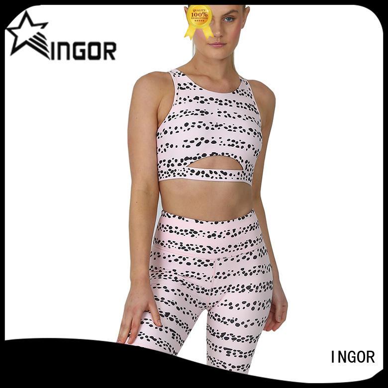 INGOR yoga set bulk production for sport