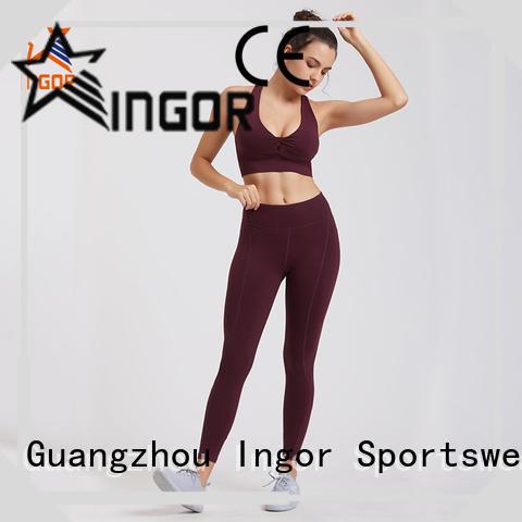 INGOR women yoga set overseas market for women