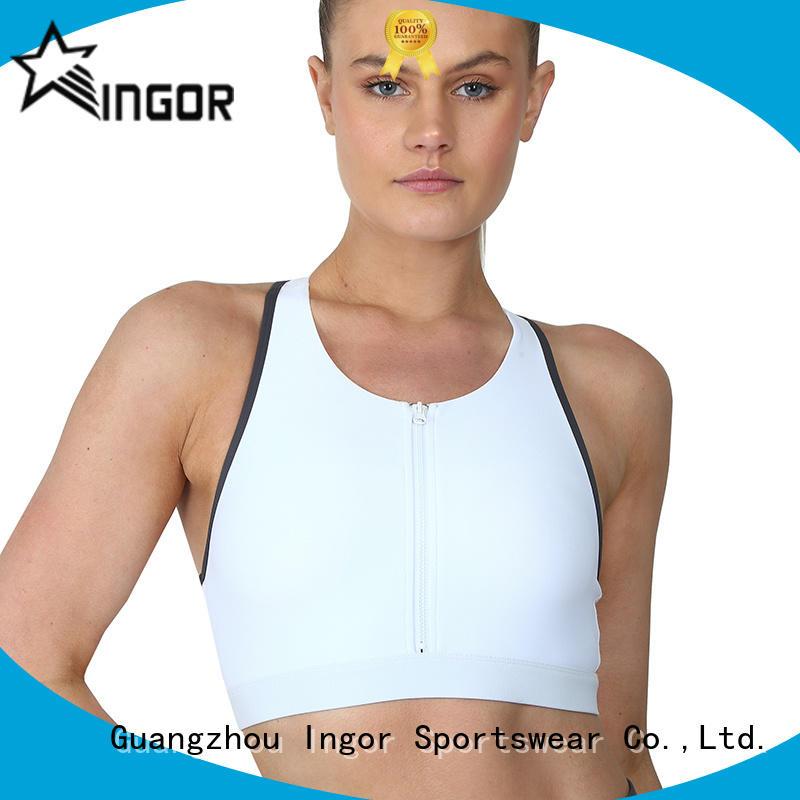 custom compression sports bra companies on sale for sport