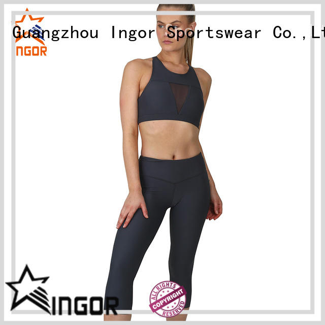 INGOR women yoga set for manufacturer for ladies