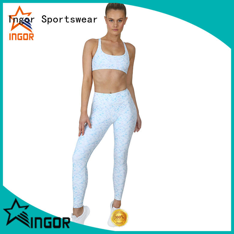 INGOR high quality women yoga set factory price for women