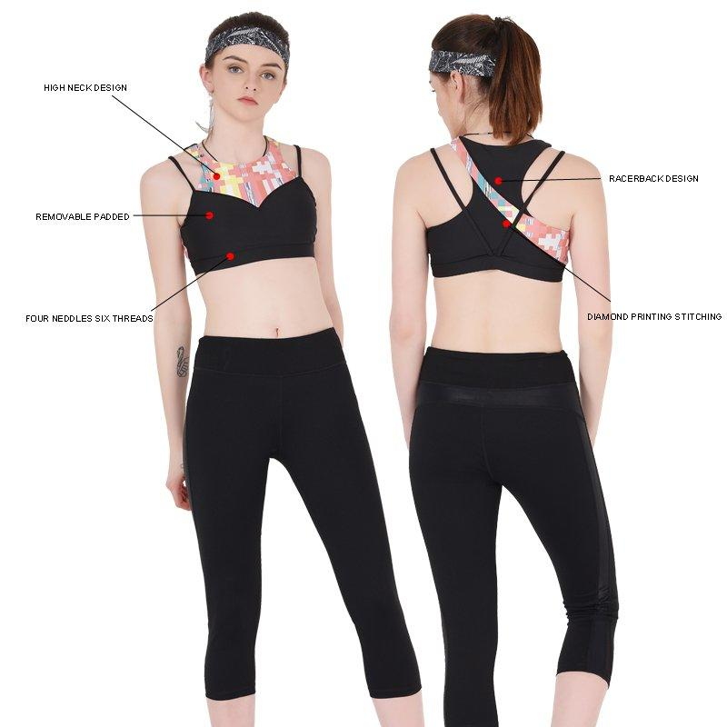 INGOR sexy supportive sports bras for running with high quality at the gym-1