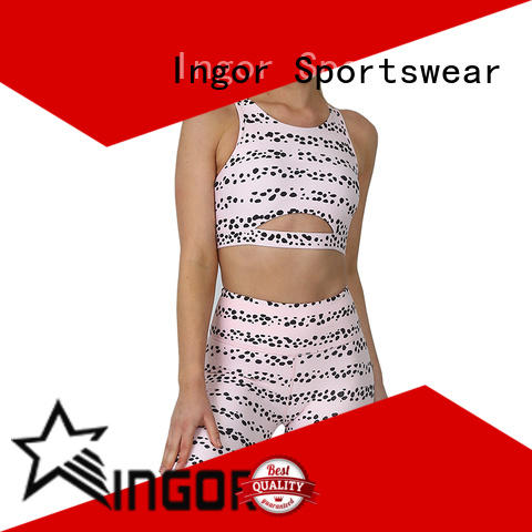 INGOR women yoga set bulk production for sport