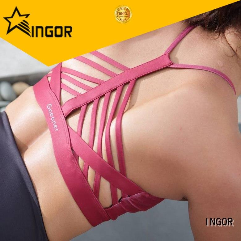 INGOR breathable sports bras with cool backs on sale for sport