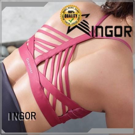 INGOR custom women's sports bra to enhance the capacity of sports for sport