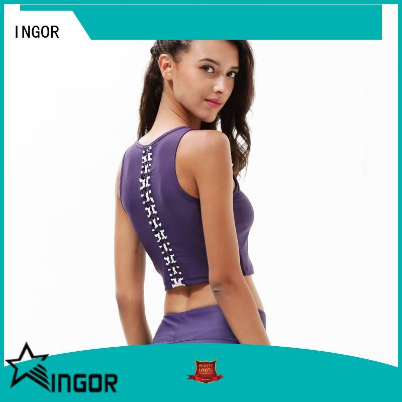 INGOR online low cut sports bra with high quality for sport